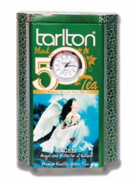 "Чай Tarlton ""Angeli"" с кварцевыми часами 200г зеленый"
