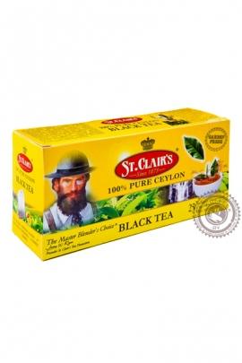 Чай ST.CLAIR'S 25 пак чёрный
