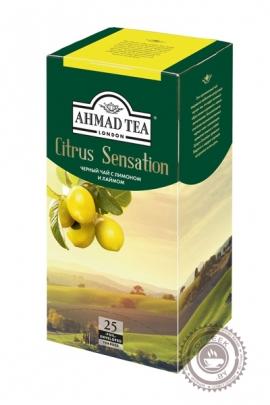 """Чай AHMAD """"Citrus Sensation"""" черный 25 пакетов"""