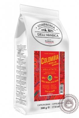 Кофе Compagnia Dell'Arabica Colombia Medellin Supremo кофе в зернах 500 г