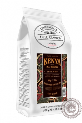 "Кофе Compagnia Dell'Arabica Kenya ""AA"" Washed кофе в зернах 500 г"