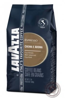 """Кофе LAVAZZA """"Crema e Aroma Espresso"""" 1000г зерно"""