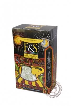 """Чай F&S """"Golden Elephant"""" черный 100 г (картон)"""