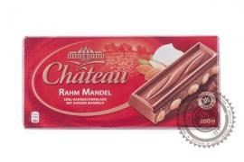 "Шоколад CHATEAU ""Rahm Mandel""(молочный с миндалем) 200г"