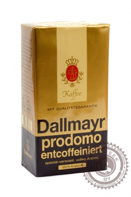 "Кофе DALLMAYR ""Prodomo Entcoffeiniert"" 500г молотый"