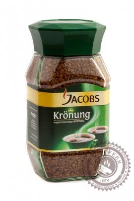"""Кофе JACOBS """"Kronung"""" 200г растворимый"""