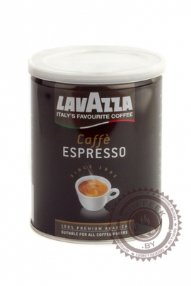 "Кофе LAVAZZA ""Espresso"" 250г ж/б молотый"
