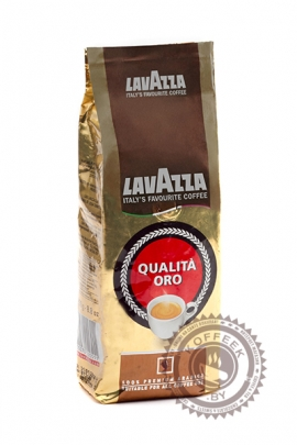 "Кофе LAVAZZA ""Oualita Oro"" 250г зерно"