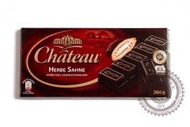 """Шоколад СHATEAU """"Herbe sahne"""" 200г (тёмный)"""