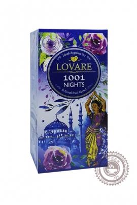 """Чай LOVARE """"1001 NIGTHS"""" черный 24 пак"""