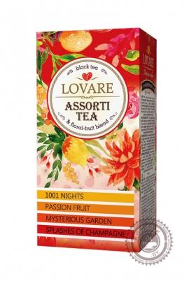 "Чай LOVARE ""ASSORTI TEA"" черный 24 пак"