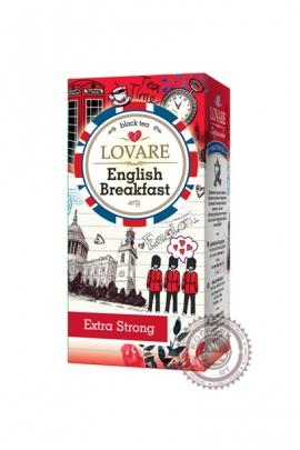 "Чай LOVARE ""English Breakfast"" черный 24 пак"