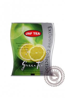 """Чай JAF TEA """"Lemon"""" (с лимоном) 100г зелёный"""