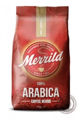 "Кофе MERRILD ""ARABICA"" зерно 1000г"