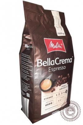 """Кофе MELITA Bella Crema """"Espresso"""" зерновой 1000г"""
