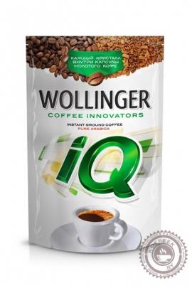 Кофе Wollinger IQ 95 г растворимый с молотым (10%)