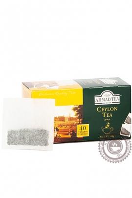 """Чай AHMAD """"Ceylon Tea"""" черный 40 пакетов"""