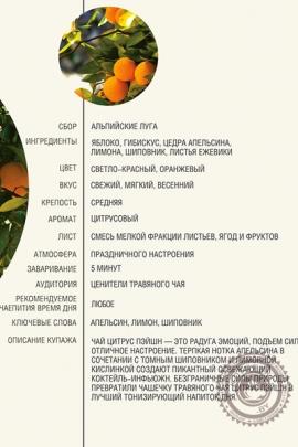 """Чай AHMAD """"Citrus Passion"""" травяной чай в фольгированных пакетиках, 20 шт"""