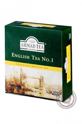 """Чай AHMAD """"English tea № 1"""" черный 100 пакетов"""