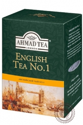 "Чай AHMAD ""English tea № 1"" 200г черный"