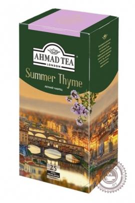 "Чай AHMAD ""Summer Thyme"" черный 25 пакетов"