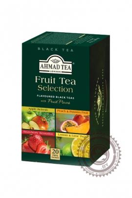 """Чай AHMAD """"Fruit Tea Selection""""  черный 20 пакетов"""