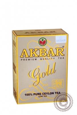 Чай AKBAR Gold черный 100 г