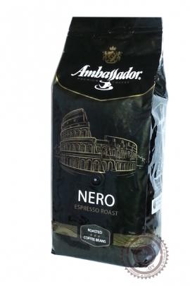 """Кофе Ambassador """"NERO"""" в зерне 1000 г"""