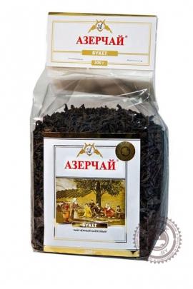 """Чай АЗЕРЧАЙ """"Букет"""" черный 200 г"""