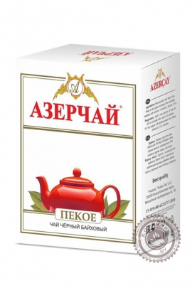 """Чай АЗЕРЧАЙ """"Пекое"""" черный 100 г"""