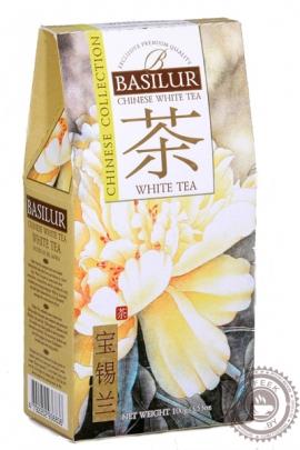 """Чай BASILUR """"White Tea"""" белый листовой 100 г"""