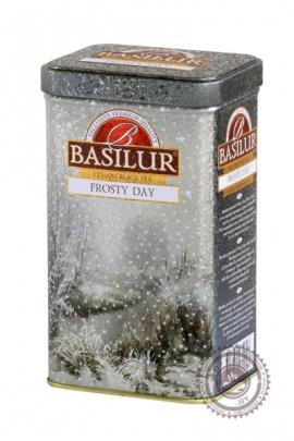 """Чай BASILUR """"Frosty Day"""" черный 85гр в ж/б"""