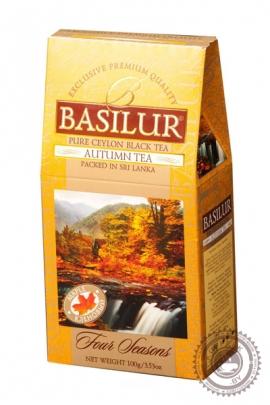 """Чай BASILUR """"Кленовый сироп"""" черный 100 г"""
