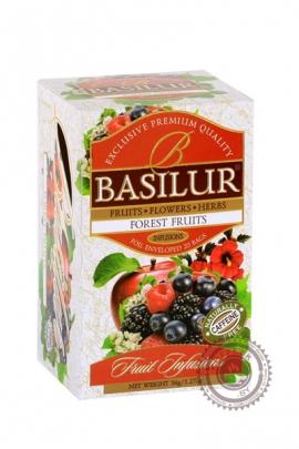 """Чай BASILUR """"Forest Fruit"""" фруктовый пакетированный 25 пак"""