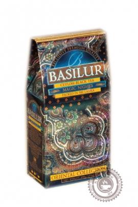"""Чай BASILUR """"Волшебные Ночи"""" черный 100 г"""
