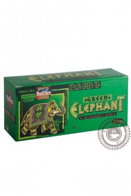 "Чай BATTLER ""Green Tea"" зелёный 25 пакетов"