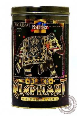 """Чай BATTLER """"Elephant Black"""" 200г ж/б черный крупнолистовой ОР"""