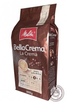 """Кофе MELITA Bella Crema """"La Crema"""" зерновой 1000г"""