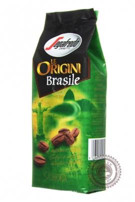 """Кофе SEGAFREDO """"Le Origini Brasile"""" молотый 250г"""