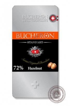 """Шоколад """"Bucheron"""" горький с фундуком (жест.уп) 100 г"""