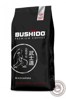 """Кофе BUSHIDO """"Black Katana"""" молотый 227г"""