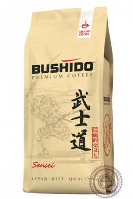 """Кофе BUSHIDO """"Sensei"""" молотый 227г"""
