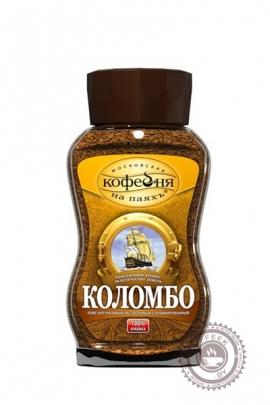 """Кофе """"Московская кофейня на паяхъ"""" Коломбо растворимый 95 г ст/б"""