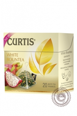 "Чай CURTIS ""White Bountea"" белый 20 пирамидок"