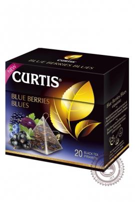 """Чай CURTIS """"Blue Berries Blues"""" черный 20 пирамидок"""