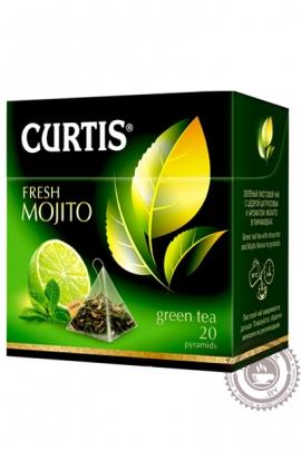 "Чай CURTIS ""Fresh Mojito"" зеленый в пирамидках, 20 шт"