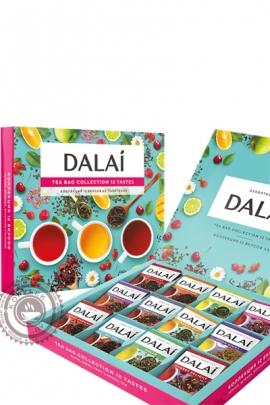 """Набор чая DALAI """"Tea Collections 12 TEASTES"""" (ассорти 60 пакетов) 12 видов пакетированного чая"""