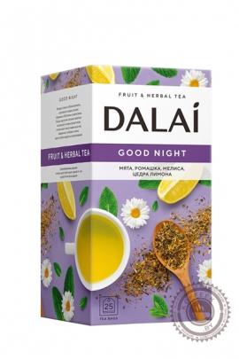 """Чай DALAI """"Good Night""""  (чайный напиток) 25 пакетов"""