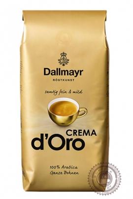 "Кофе DALLMAYR ""Crema d'Oro"" 1000г зерно"