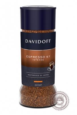 """Кофе Davidoff """"Espresso Intense"""" растворимый 100г"""
